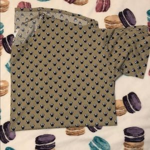LuLaRoe Irma Shirt Minnie Mouse 2XL
